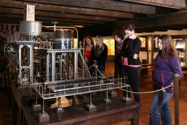 Kuriozity - model varny parnÝho pivovaru