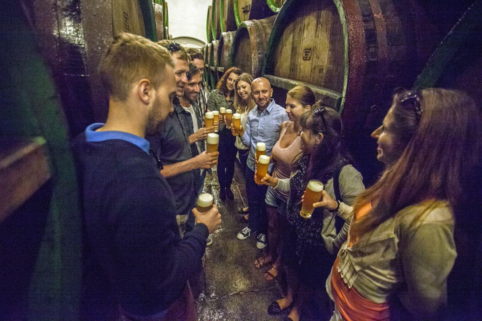 Besichtigung der Pilsner Urquell Brauerei / Prazdroj Visit