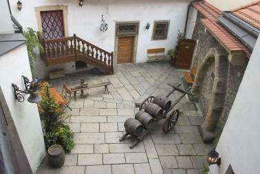 dvoreček Pivovarského muzea
