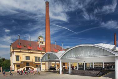 Nádvoří pivovaru Plzeňský Prazdroj (9)