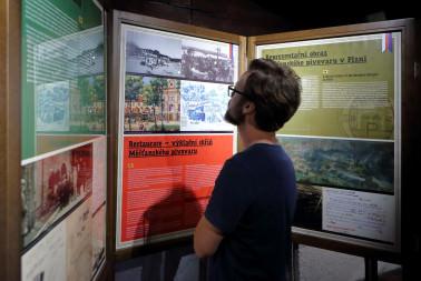 Výstava Prazdroj před 100 lety a dnes (3)